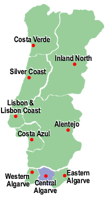 Search for Properties in Central Algarve