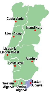 Search for Properties in Eastern Algarve