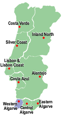 Search for Properties in Western Algarve