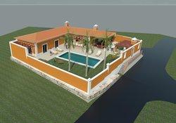 3 Bedroom Villa Bombarral, Silver Coast Ref :AV2102