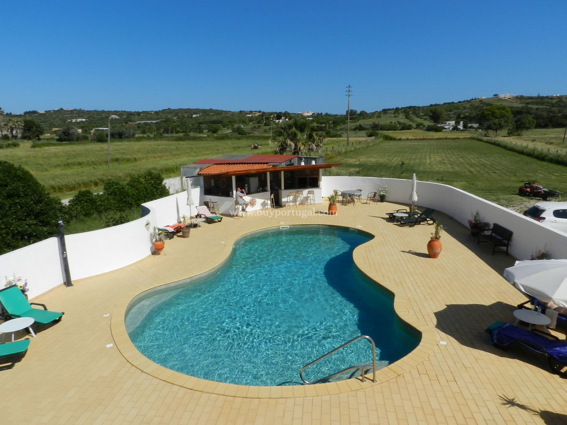 5 Bedroom Villa Praia da Luz, Western Algarve Ref: GV537
