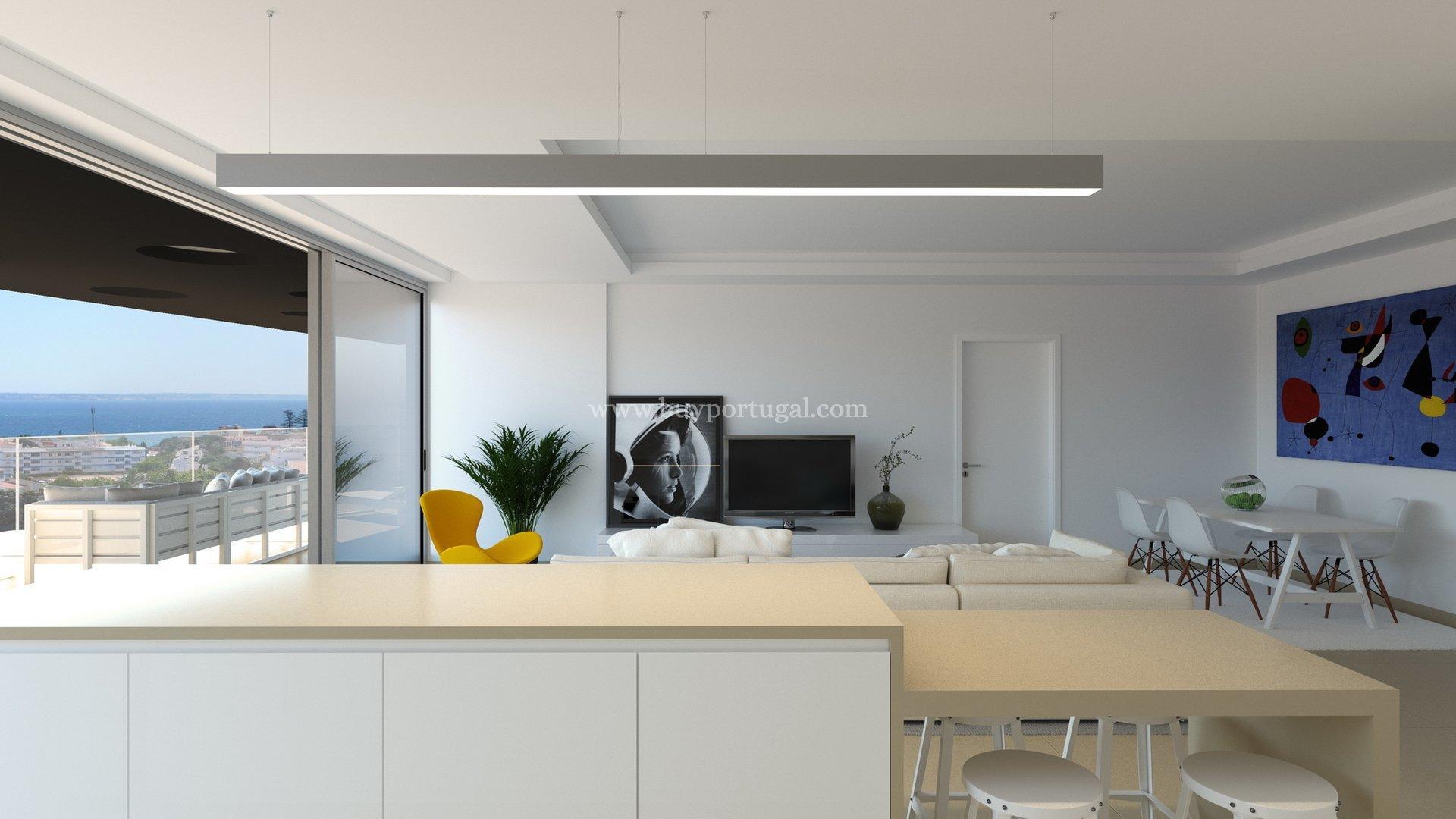 3 Bedroom Penthouse Lagos, Western Algarve Ref: GA214F
