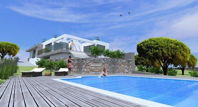 3 Bedroom Villa Santa Barbara de Nexe, Central Algarve Ref: JV10284