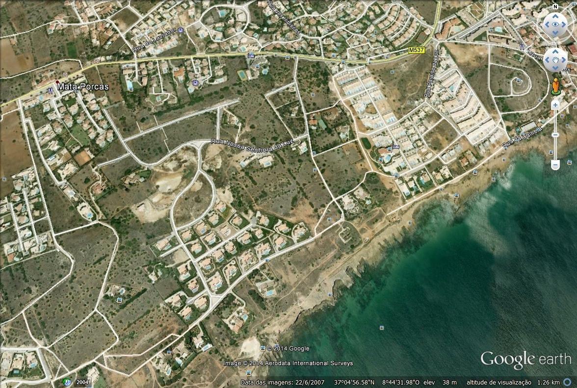 Plot Praia da Luz, Western Algarve Ref: GP024