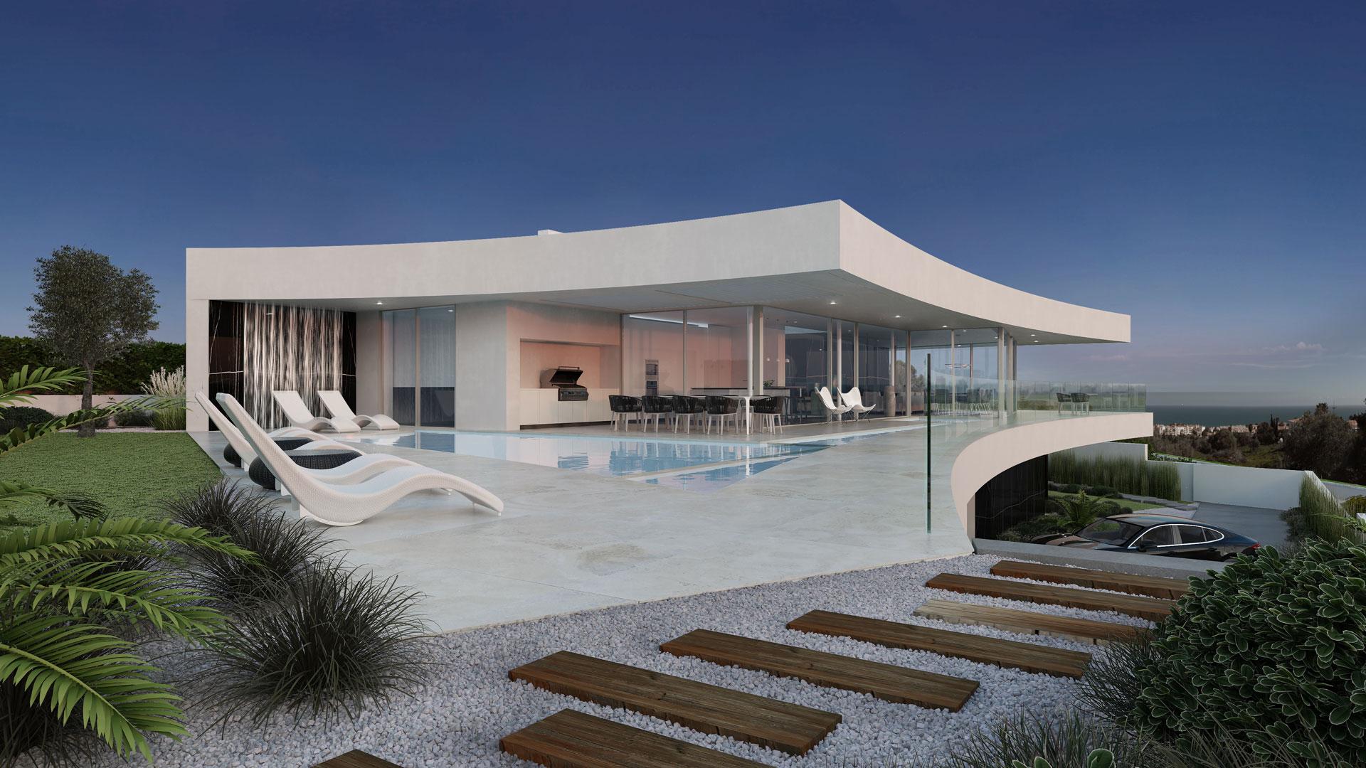 4 Bedroom Villa Praia da Luz, Western Algarve Ref: GV590F