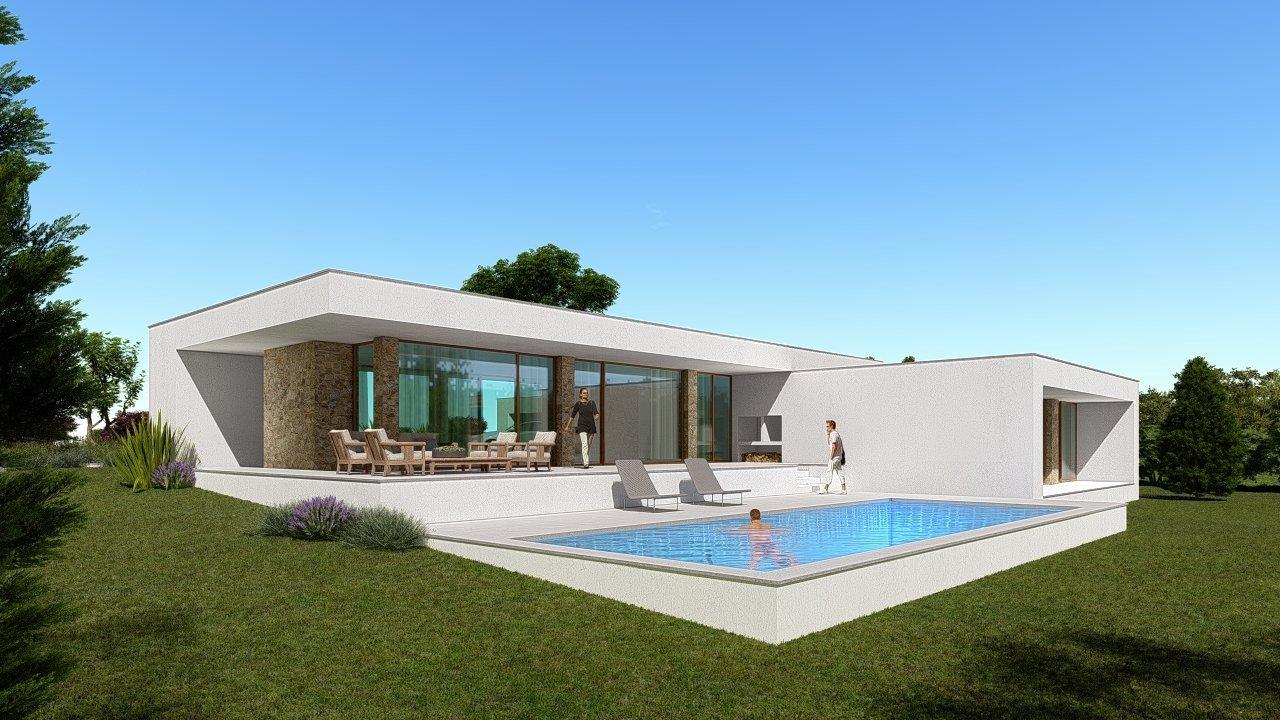 3 Bedroom Villa Bombarral, Silver Coast Ref: AV2100