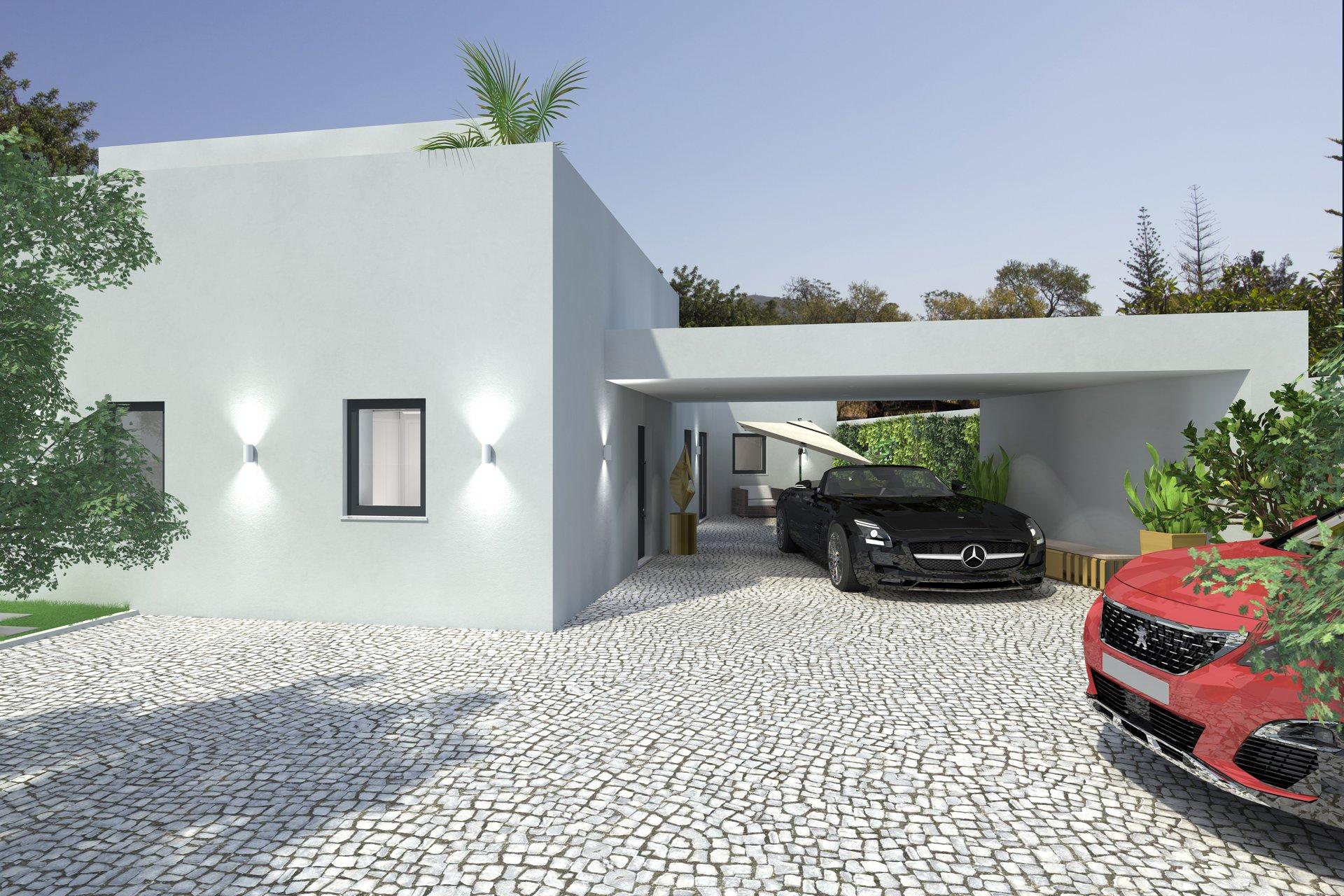 4 Bedroom Villa Santa Barbara de Nexe, Central Algarve Ref: RV5449