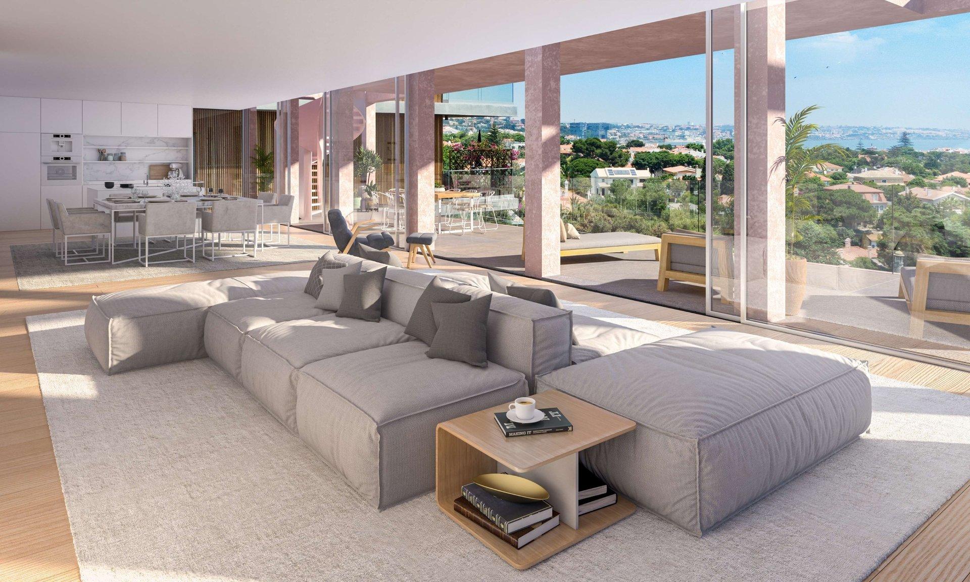 3 Bedroom Apartment Cascais, Lisbon Ref: ASA147D