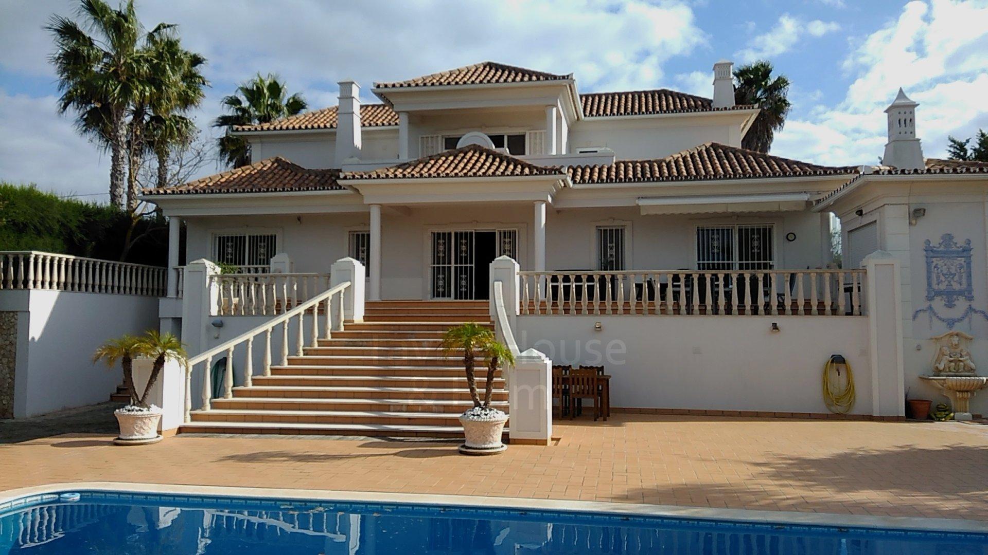 5 Bedroom Villa Vale do Lobo, Central Algarve Ref: MV24310