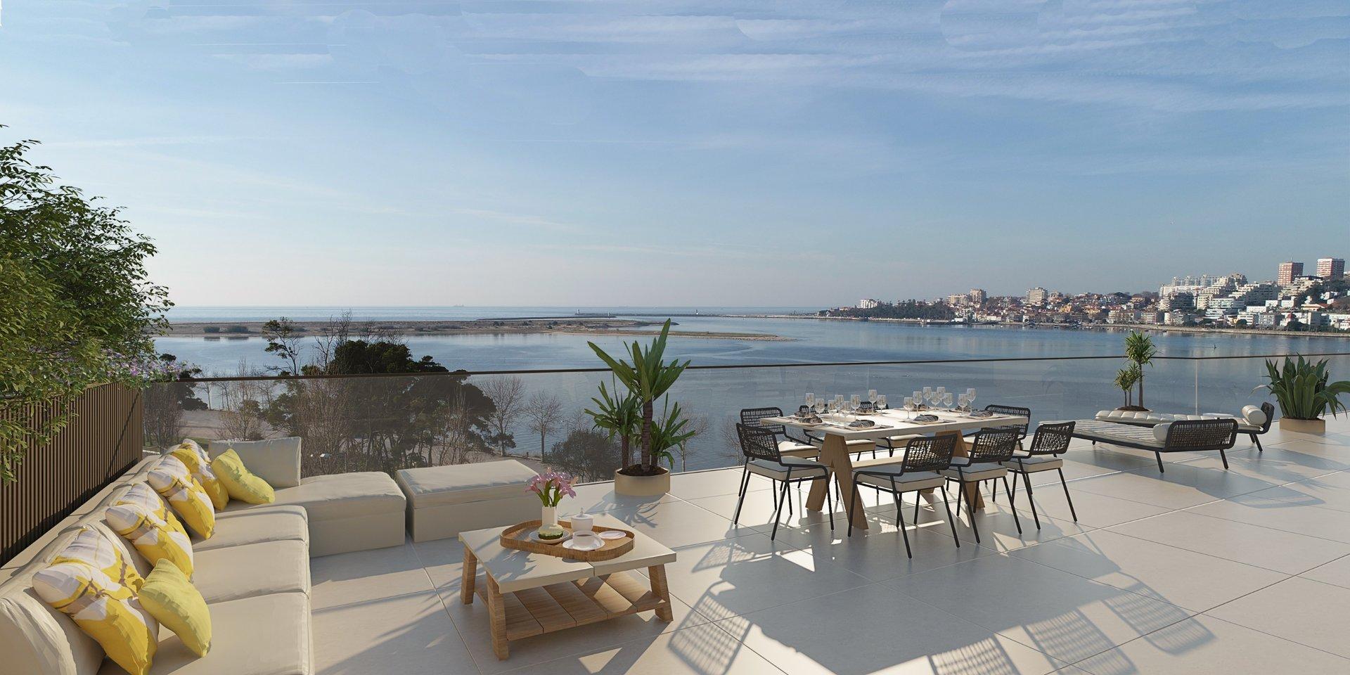 2 Bedroom Apartment Vila Nova de Gaia, Porto Ref: ASA215D