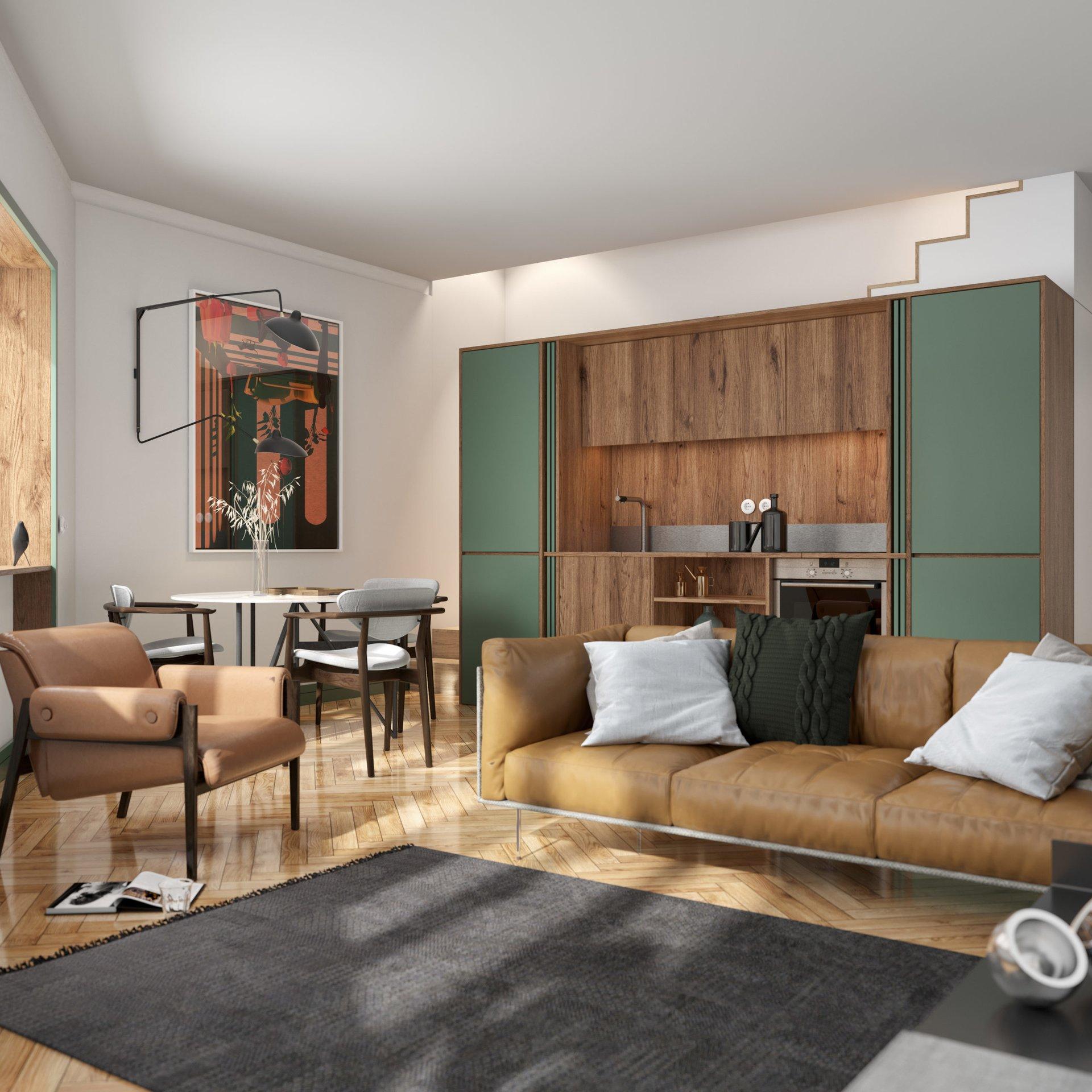 1 Bedroom Apartment Porto, Porto Ref: ASA230A