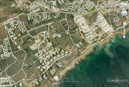Plot , Praia da Luz, Western Algarve Portugal
